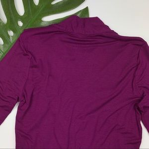Ann Taylor Tops - Ann Taylor Soft Ruched Top M